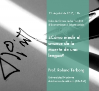 "Seminar ""How to measure the progress of the death of a language?"""